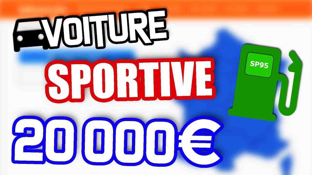 Quelle sportive pour moins de 20 000 euros?