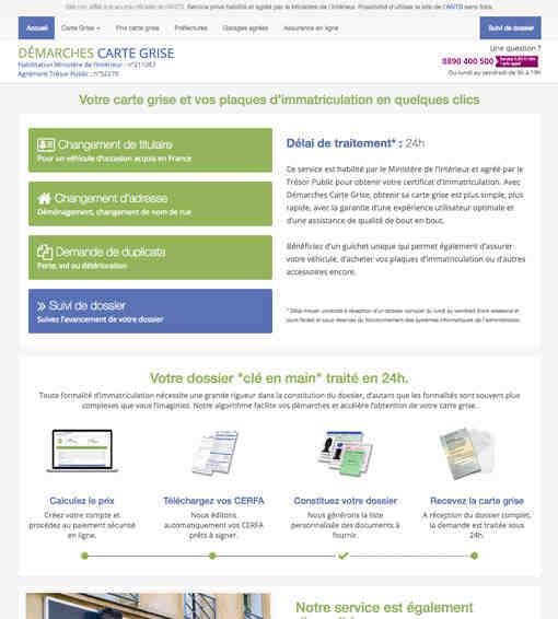 Comment changer votre titulaire d'immatriculation en ligne?