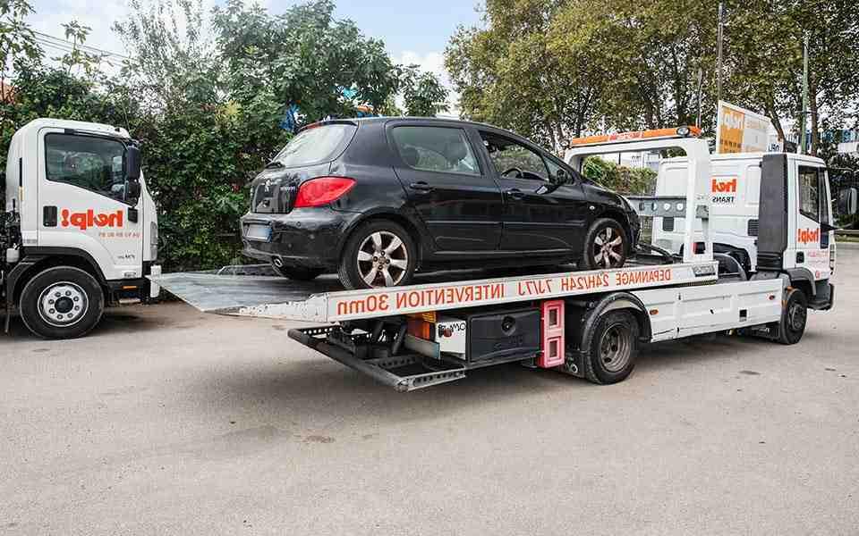 Comment savoir si le véhicule a été victime d'un accident?