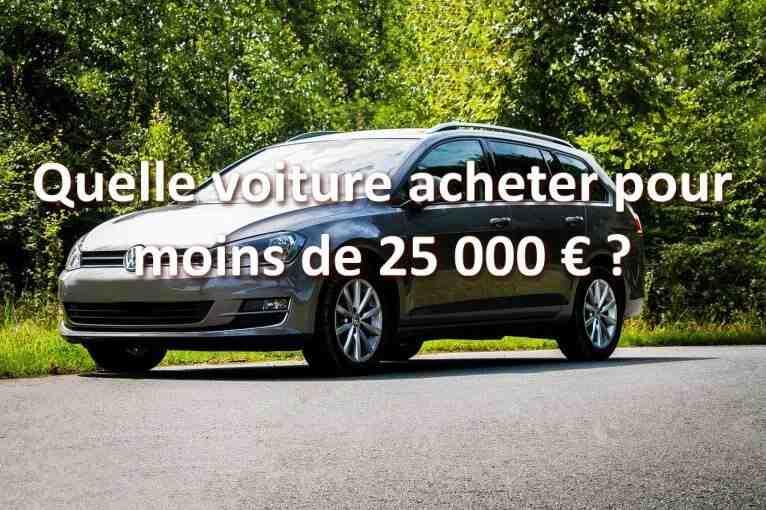 Quel SUV choisir pour 25 000 euros?