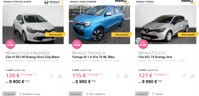 Quel véhicule acheter en 2020?