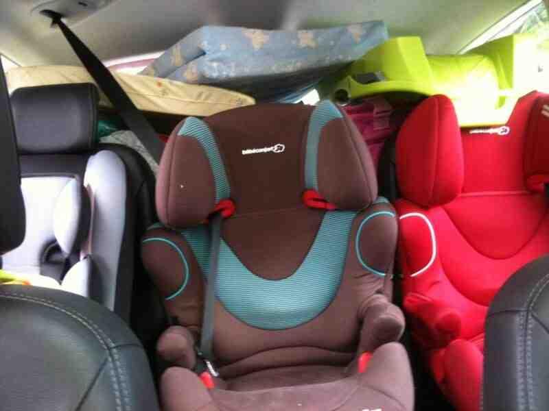 Quelle est la meilleure voiture avec 3 sièges auto?