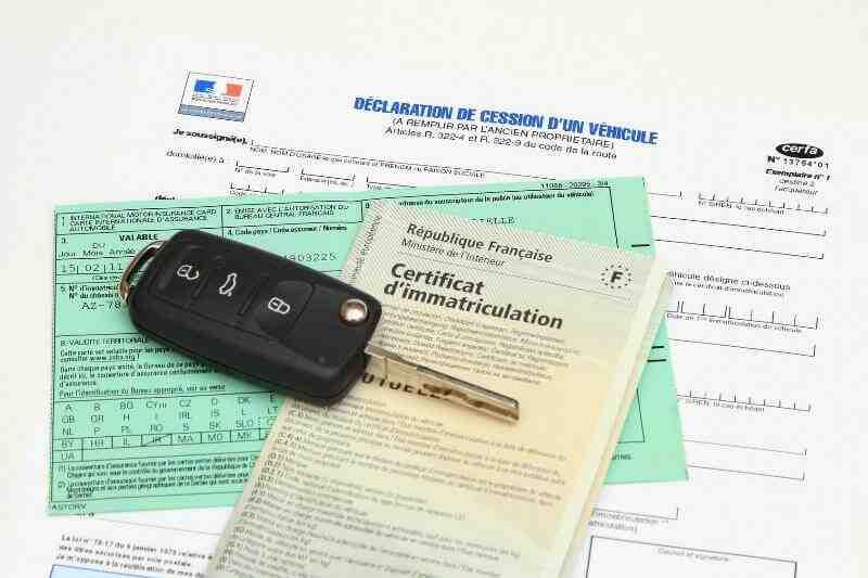 Quelle preuve d'adresse pour demander un document d'immatriculation du véhicule?
