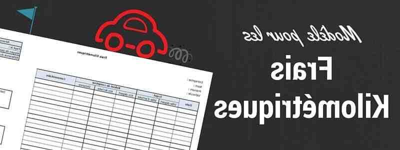Comment calculer les frais de kilométrage 2019?