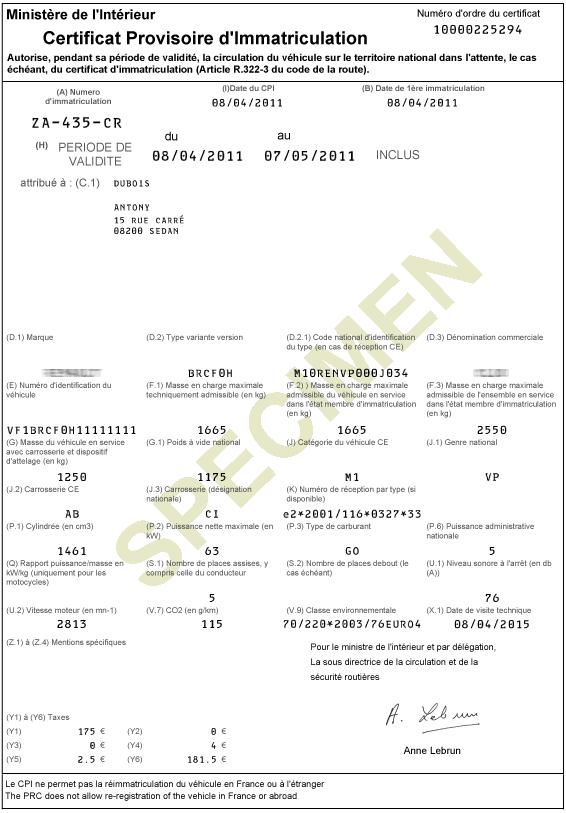 Comment immatriculer une voiture française en Allemagne?