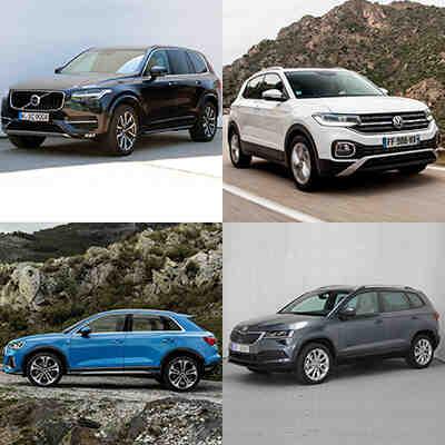 Quel est le SUV le plus utilisé?