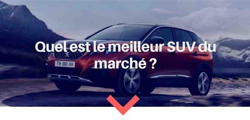 Quel est le meilleur SUV?