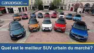 Quel petit SUV en 2021?