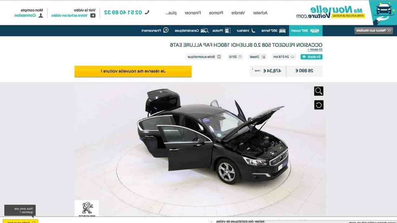 Quel site pour vendre une voiture réutilisable?
