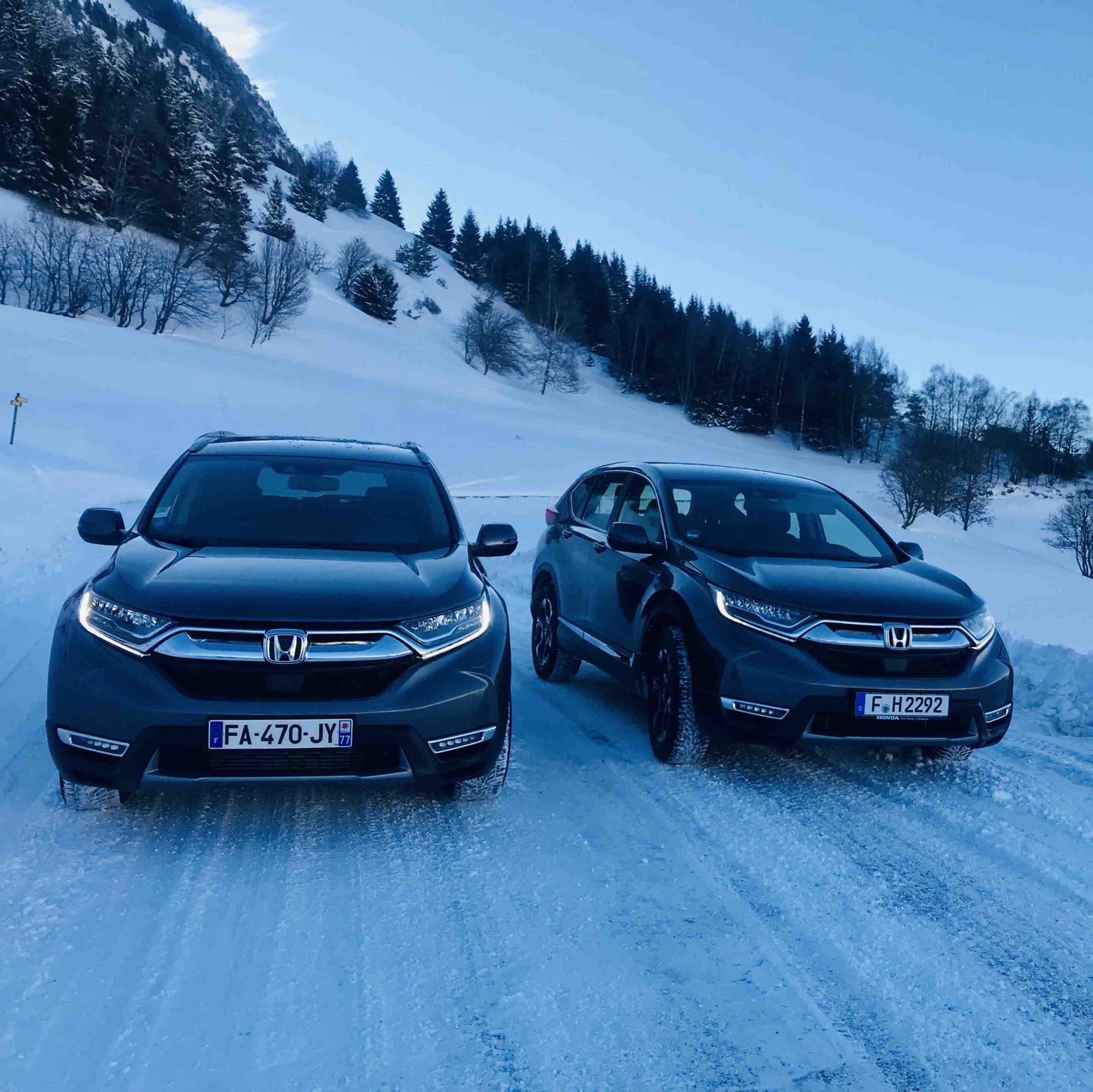 Qu'est-ce qu'un SUV sur la neige?